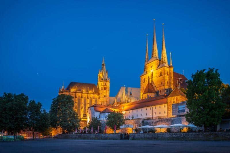CATL plant Baubeginn in 2019 in Erfurt, Thüringen