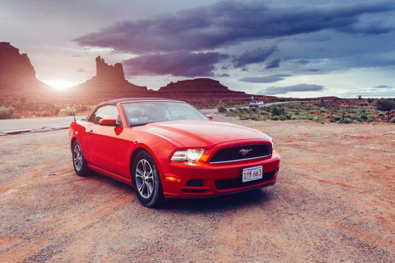Ford Mustang als Vorbild für erstes reines E-Auto