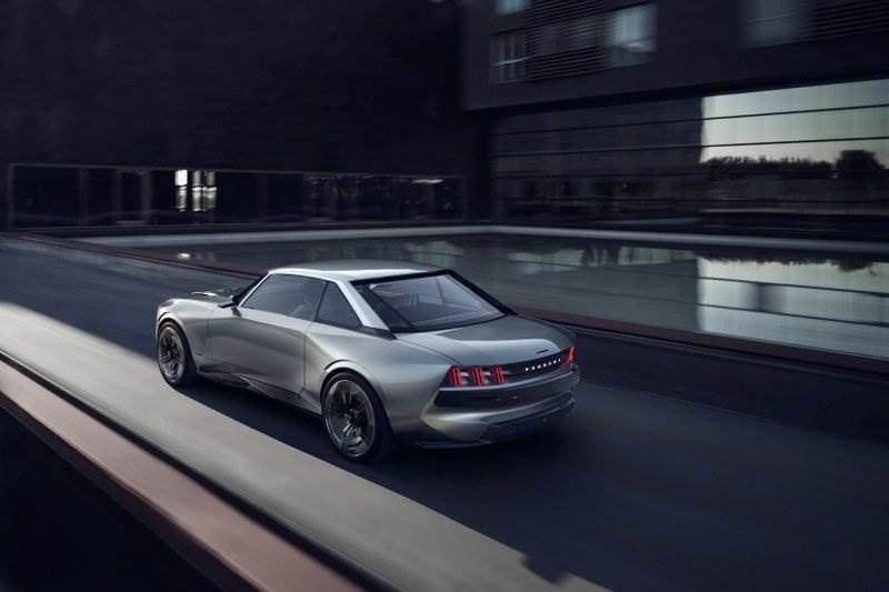 Concept Car Peugeot E Legend Concept Elektroauto News Net