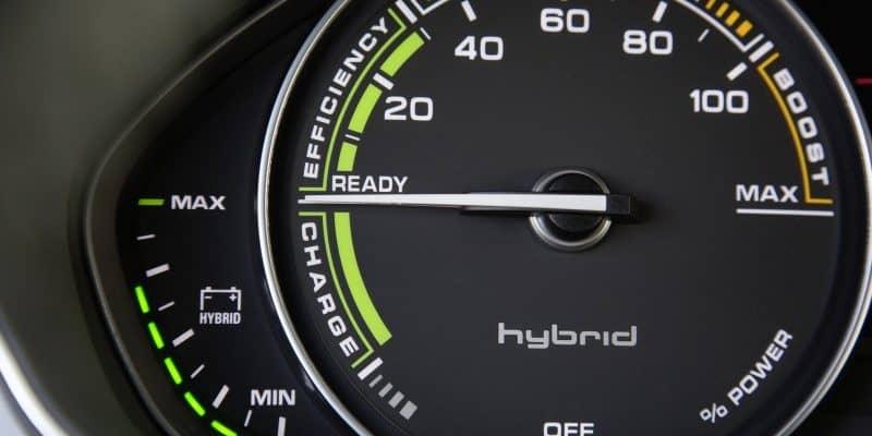 Detailaufnahme des Audi A7 Sportback h-tron quattro