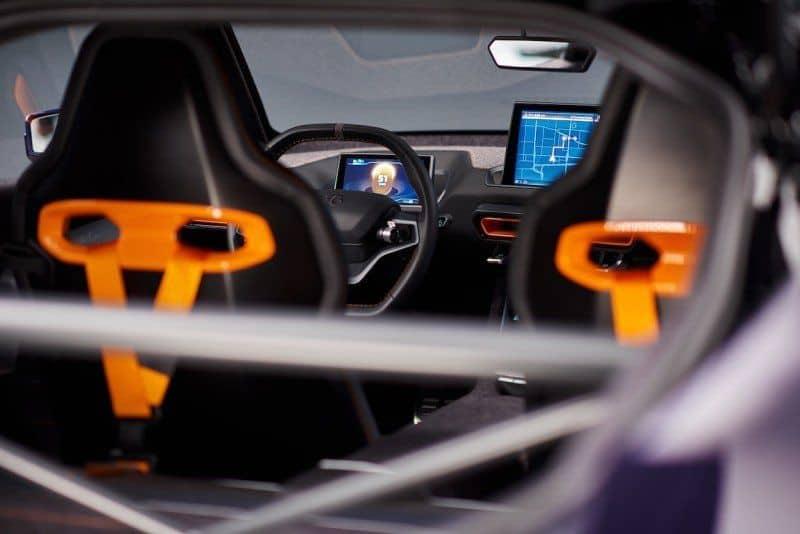 Blick in den Innenraum des E-Autos