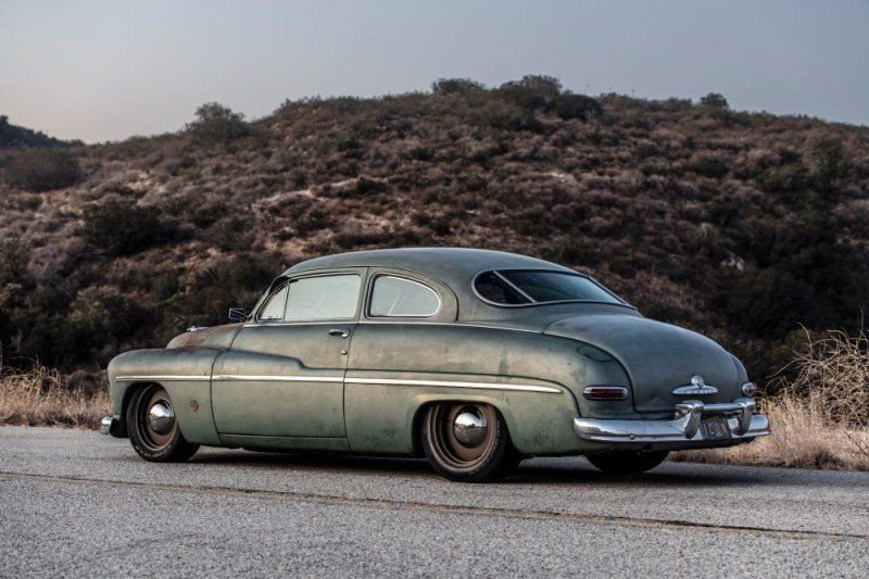 1949 Mercury Coupé Heck