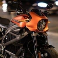 Details der Harley-Davidson LiveWire