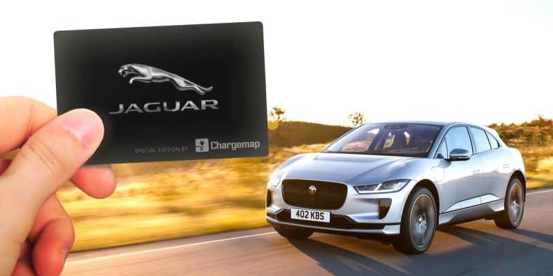 """Jaguar special edition"" Chargemap Pass"