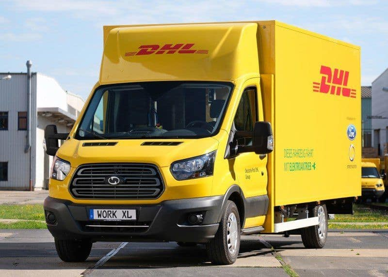 Dt. Post DHL & Ford_ E-Transporter StreetScooter WORK XL
