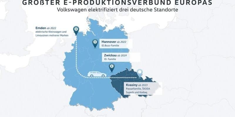 VW Pläne zur Werksbelegung