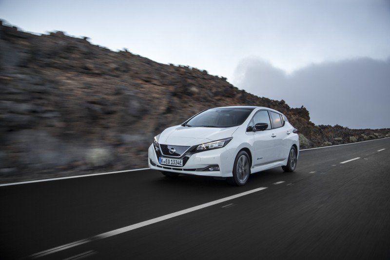 Nissan LEAF nimmt Fahrt auf