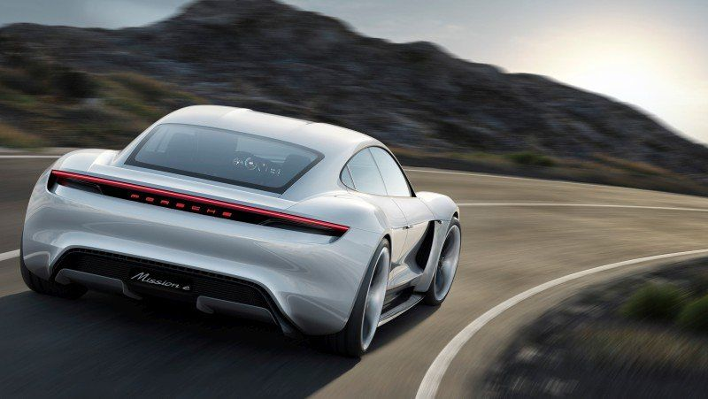 Porsche Taycan ehemals Mission E