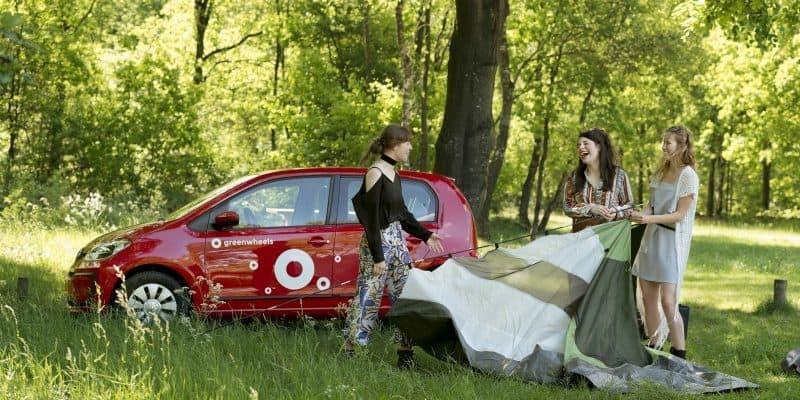 Greenwheels Auto im Freien