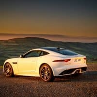 Jaguar F-Type Sonnenuntergang