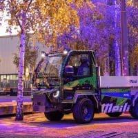 E-Kommunalfahrzeug von Suncar HK und Meili