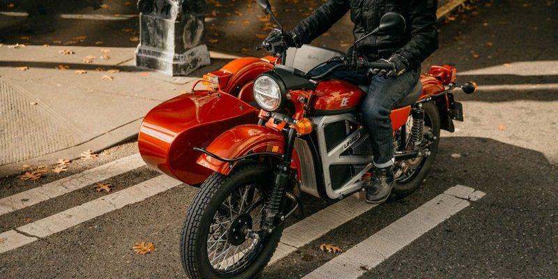 Ural Electric Prototype E-Motorrad mit Beiwagen (1)