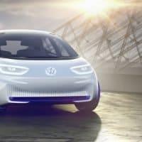 VW ID. Nahaufnahme