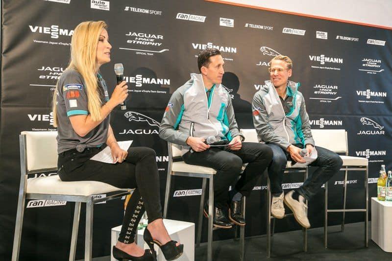 Führungsteam von Viessmann Jaguar eTROPHY Team Germany