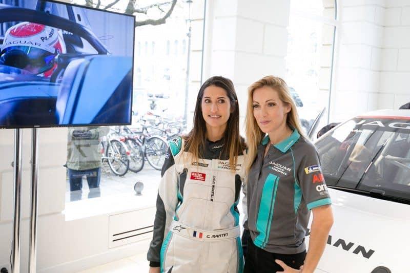 Célia Martin Fahrerin von Viessmann Jaguar eTROPHY Team Germany