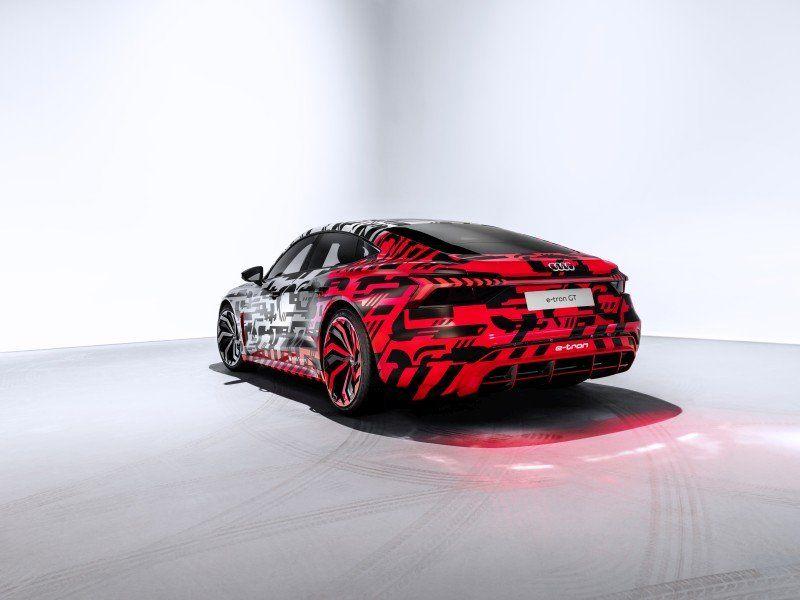 Audi e-tron GT concept Heckansicht