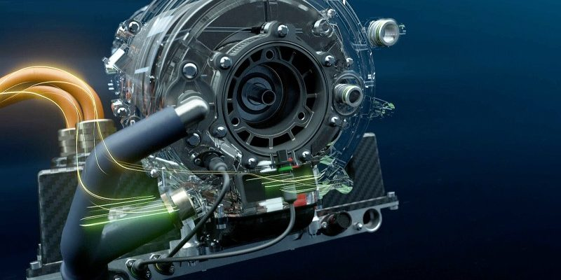 Antriebsstrang des BMW iFE.18