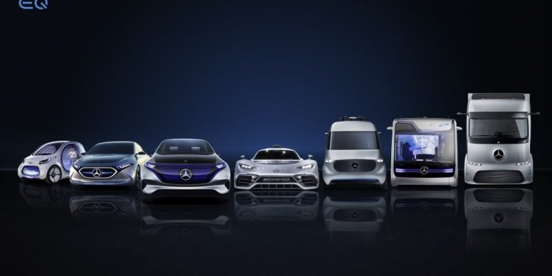 Daimler EQ-Flotte