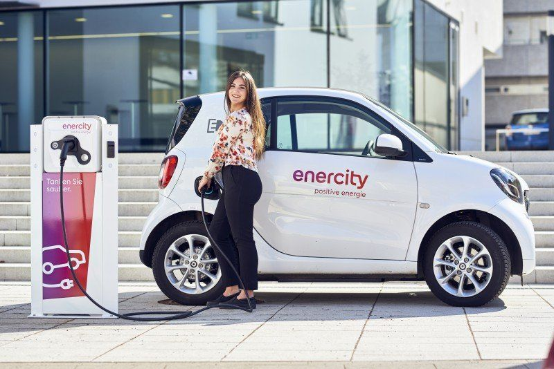 Enercity Ladevorgang