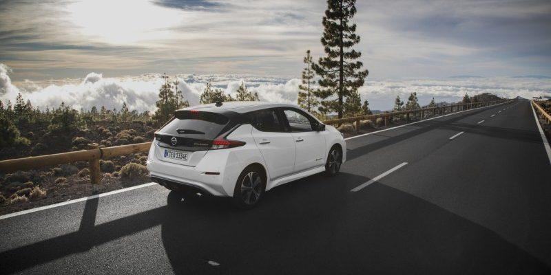 Nissan Leaf Heckansicht