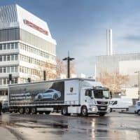 Porsche setzt auf vollelektrischen MAN eTGM im Werksverkehr (2)