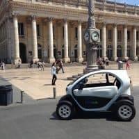 Renault Twizy parkend