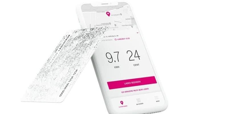 Telekom startet Ladetarif für E-Autos – übergreifend über alle Hubject-Roamingplattform App Screenshot