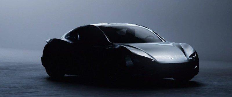 Vision des Tesla Roadster von The Yakuzi