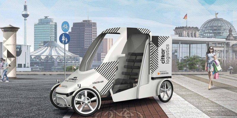 "E-Cargo-Bike ""Loadster"" von citkar"