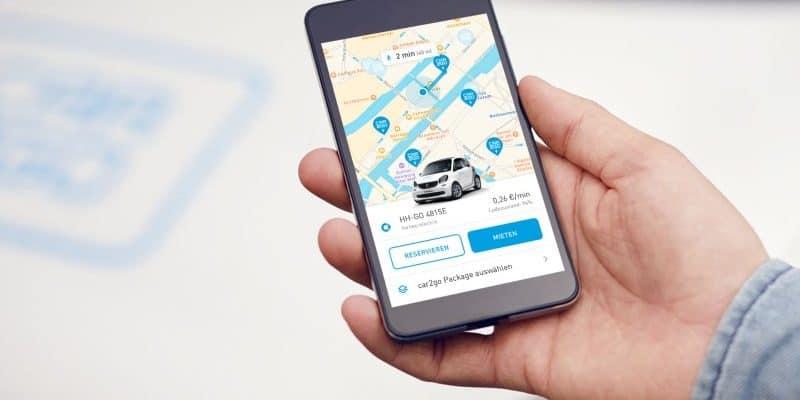 car2go macht ersten Schritt für die Elektrifizierung der smart-Flotte