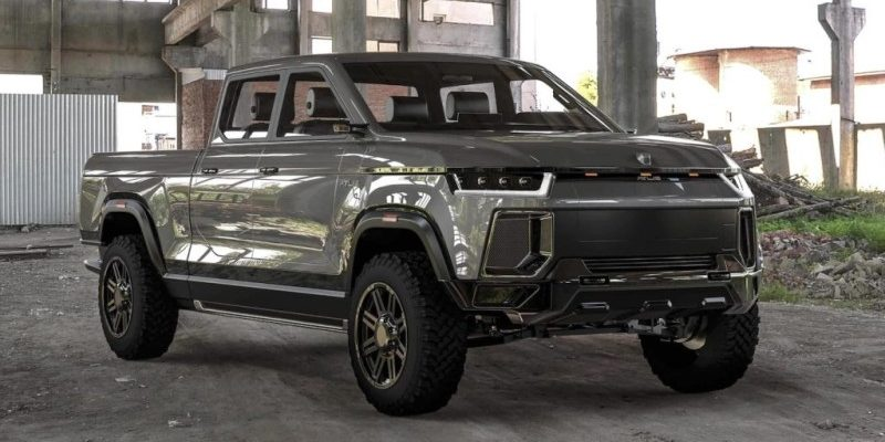 Atlis XT Elektro-Pickup Truck Frontansicht