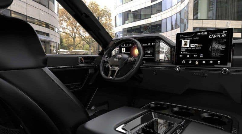 Atlis XT Elektro-Pickup Truck Innenraum