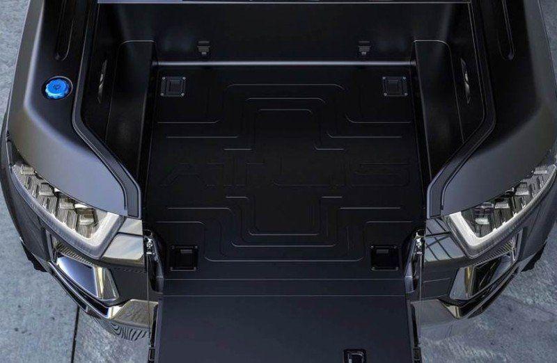 Atlis XT Elektro-Pickup Truck Front