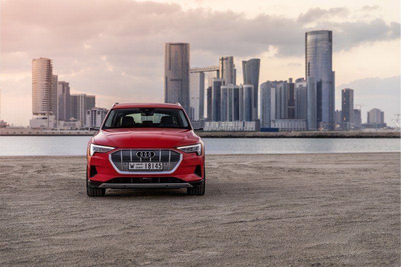 Audi e-tron in Dubai