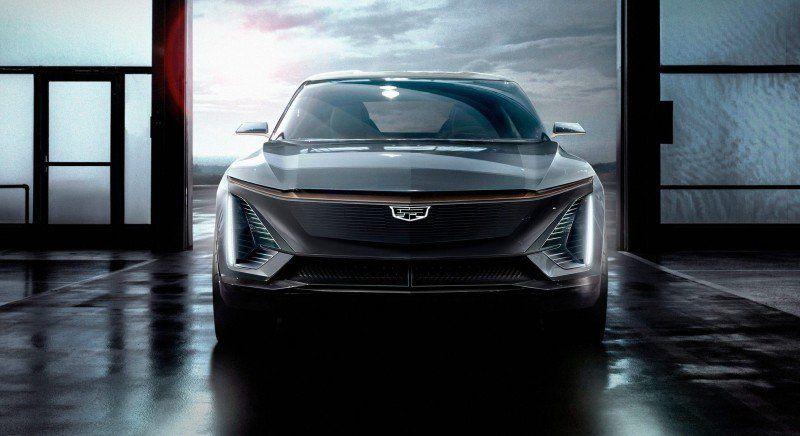 Cadillac E-Auto Konzept Front