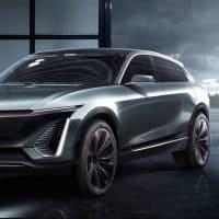 Cadillac E-Auto Konzept seitlich