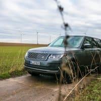 Front des Range Rover Vogue P400e PHEV
