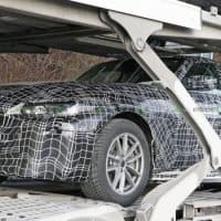 Erlkönig BMW i4 - Frontansicht
