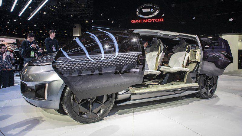 GAC Motor Concept Car ENTRANZE - Blick ins Innere