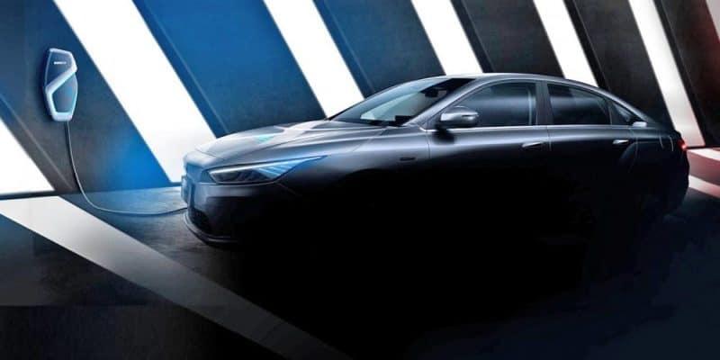 Geely Elektroauto Teaser