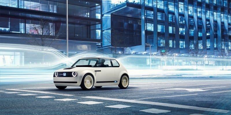 Urban EV Concept auf der Straße