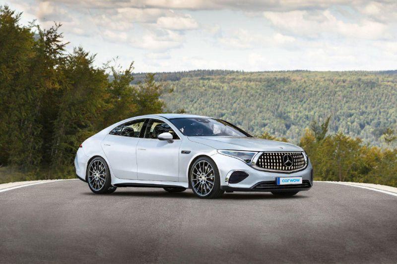 carwow Mercedes EQS Konzept