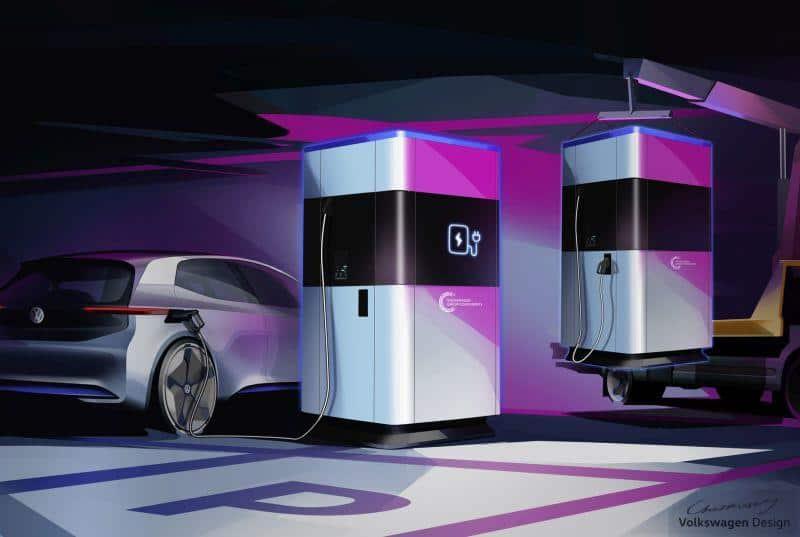 Mobile Schnellladesäule von Volkswagen geht ab 2020 in Serienfertigung
