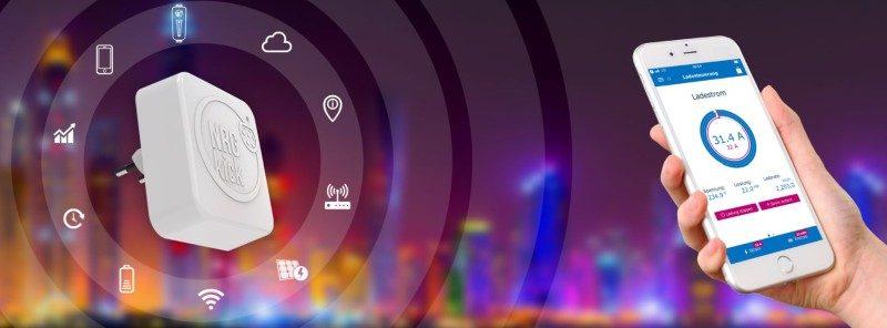 Blick auf NRGkick App