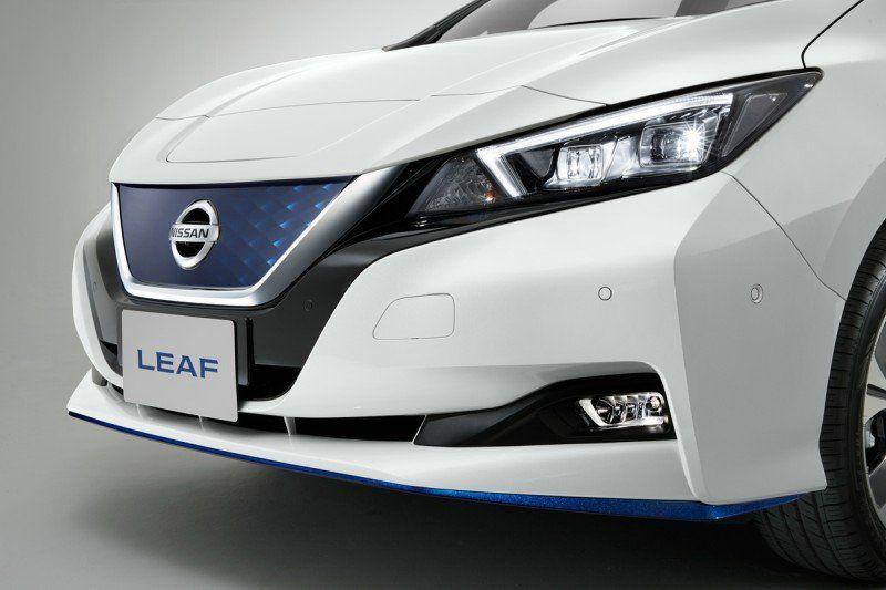 Nissan Leaf 3.ZERO e+ Limited Edition 160 kW217 PS und 62 kWh-starke Lithium-Ionen-Batterie - Front