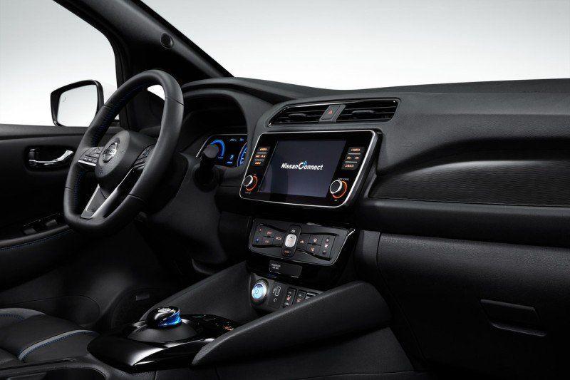 Nissan Leaf 3.ZERO e+ Limited Edition 160 kW217 PS und 62 kWh-starke Lithium-Ionen-Batterie - Infotaiment-System