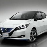 Nissan Leaf 3.ZERO e+ Limited Edition 160 kW217 PS und 62 kWh-starke Lithium-Ionen-Batterie Frontansicht