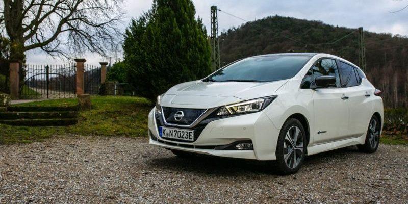 Nissan Leaf 2. Generation Front-Ansicht