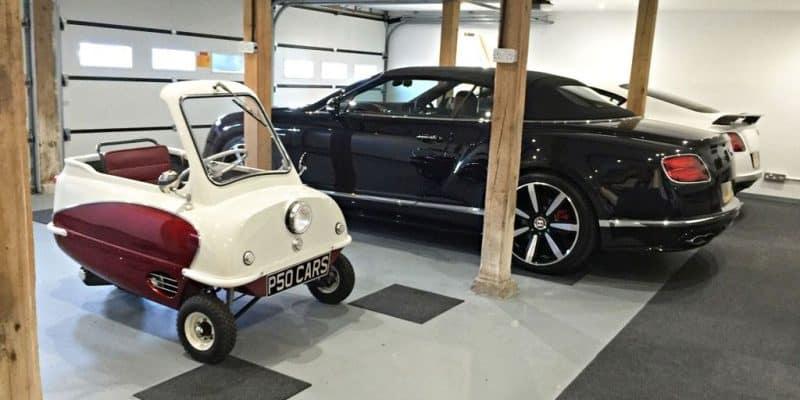 P.50 - Kleinstes E-Auto der Welt