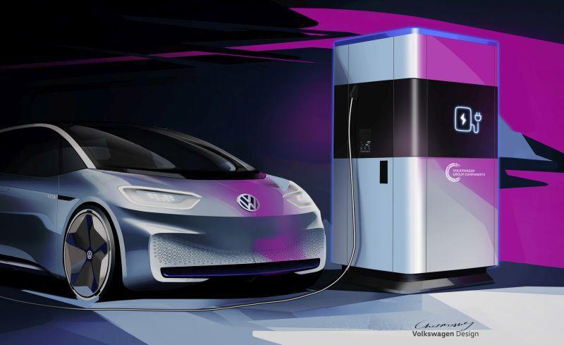 Volkswagen Konzern Komponente konzentriert sich auf E-Batterien